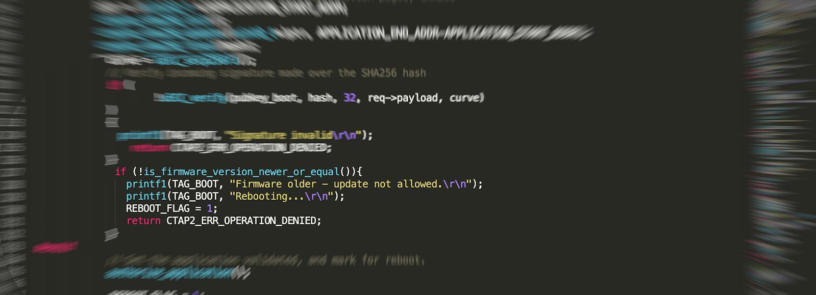 SoloKeys firmware snippet